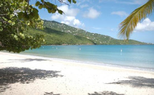 Magen's Bay Beach is a perfect location for a beach wedding in St. Thomas