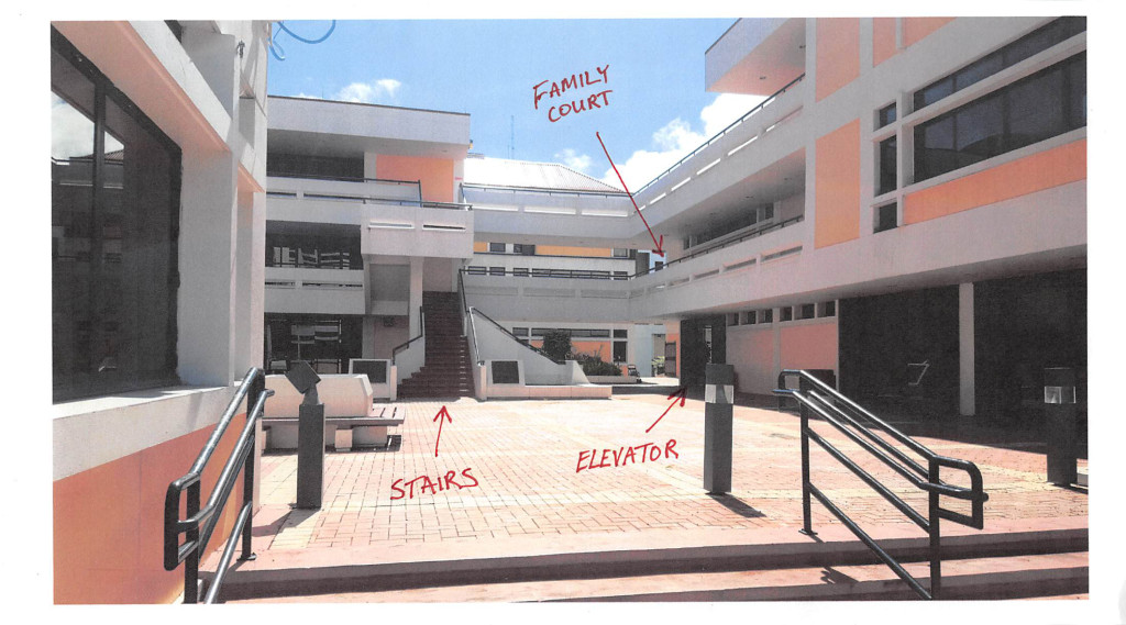 st thomas virgin islands courthouse with directions to family division