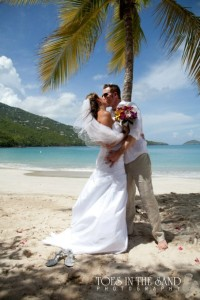 planning a beach destination wedding in the morning