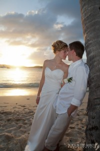 planning a sunset ceremony for your destination wedding