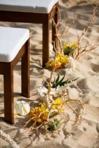 beach wedding decor for planning a destination wedding