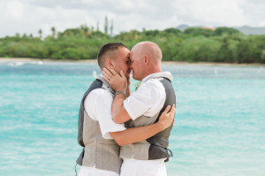 same-sex destination wedding in st thomas