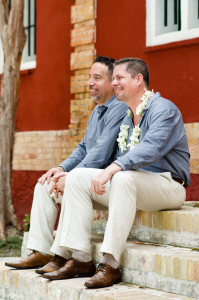 same-sex wedding in charlotte amalie, st. thomas