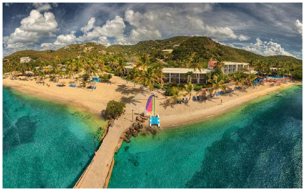 Bolongo Bay Resort in St. Thomas Virgin Islands