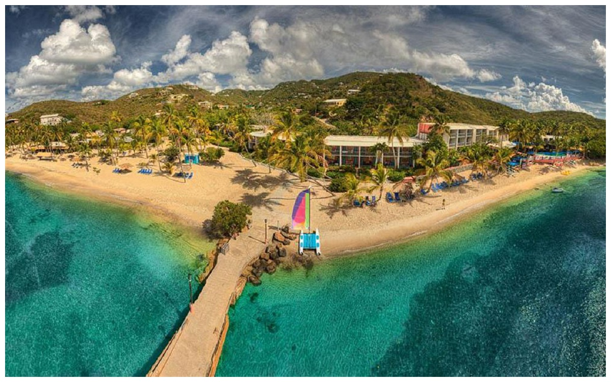 Bolongo Bay Resort In St Thomas Virgin Islands