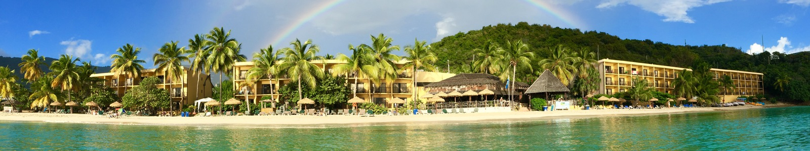 Emerald Beach Resort In St Thomas View From The Water