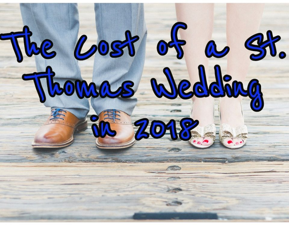 cost of a st thomas wedding