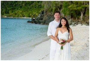 hawksnest beach wedding